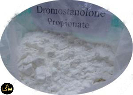 99% Purity White Crystalline Bodybuilding Drostanolone Propionate / Masteron Powder CAS 521-12-0