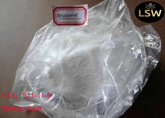 CAS 521-11-9 High Purity White Solid Steroids Powder Mestanolone for Bodybuilding