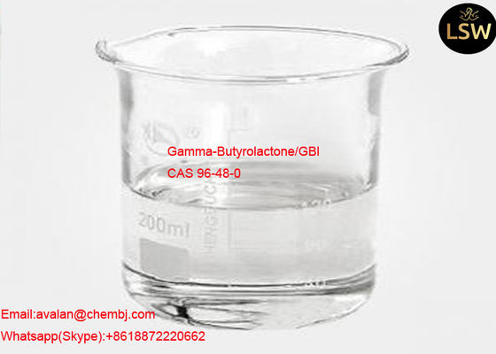 99% Purity Colorless Liquid Gamma - Butyrolactone / GBL CAS 96-48-0