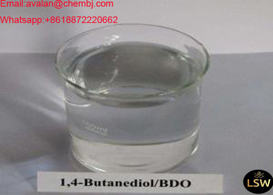 99.5% Colorless Liquid Fat Burning Steroids 1,4- Butanediol BDO CAS 110-63-4