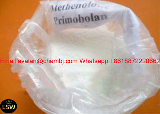 CAS 434-05-9 99% Purity White Legal Anabolic Steroids Methenolone Acetate / Primonabol