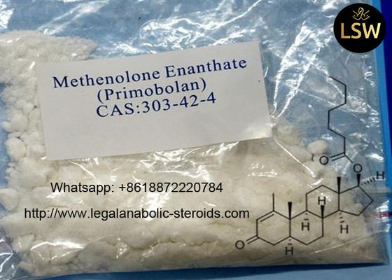 Healthy White Legal Anabolic Steroids Methenolone Powder Enanthate For Bodybuilding