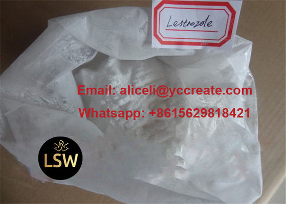 Fat Burning Anti Estrogen Steroids High Purity Letrozole CAS 112809 51 5 For Breast Cancer
