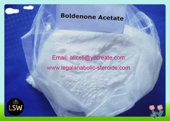 99% Purity Boldenone Acetate White Raw Steroids Powder CAS 2363-59-9 For Gaining Muscles